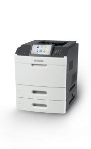 "The Lexmark MS812DE with 7"" touch screen and 70ppm is the perfect way to get your payroll check printed fast and in style!"