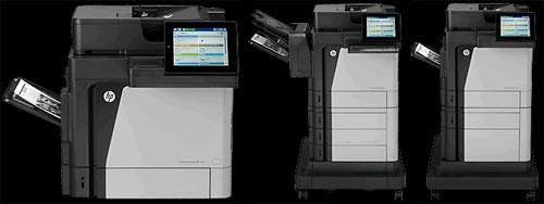 HP LaserJet M630 MFP Series