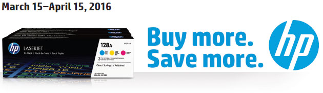HP Buy more. Save more Toner Cartridge Rebate