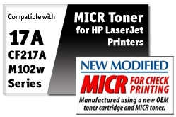 HP CF217A MICR Toner Cartridge