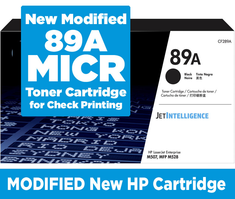 HP CF289A New MICR Toner Cartridge